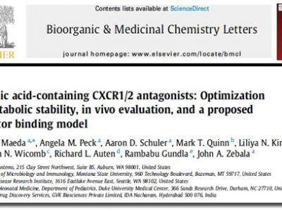 Syntrix Publication in Bioorganic & Medicinal Chemistry Letters